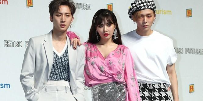 Mỹ nữ sexy xứ Hàn HyunA bất ngờ công khai mối quan hệ 2 năm với đàn em cùng công ty ảnh 2