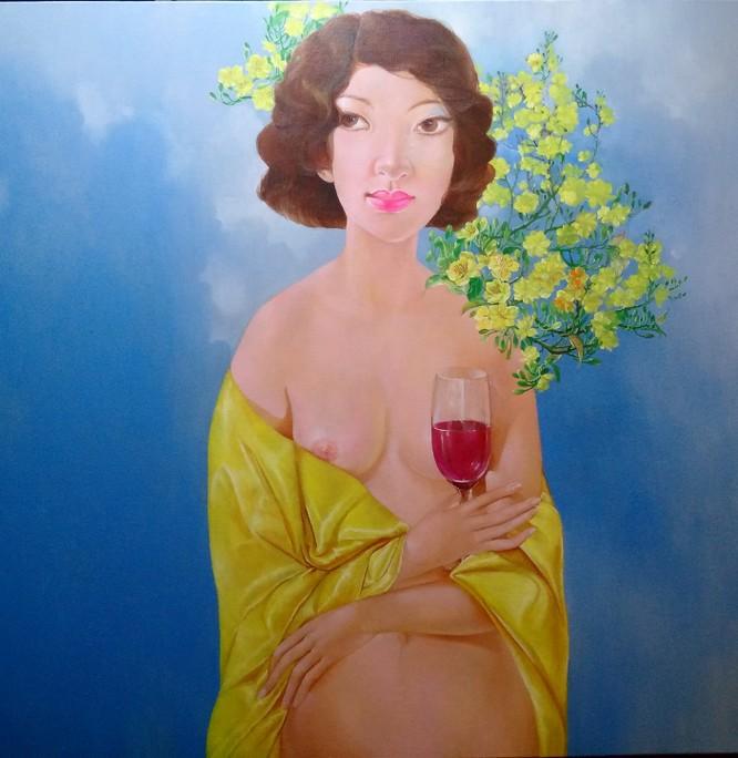 Thưởng thức vẻ đẹp nude và đấu giá online ảnh 2