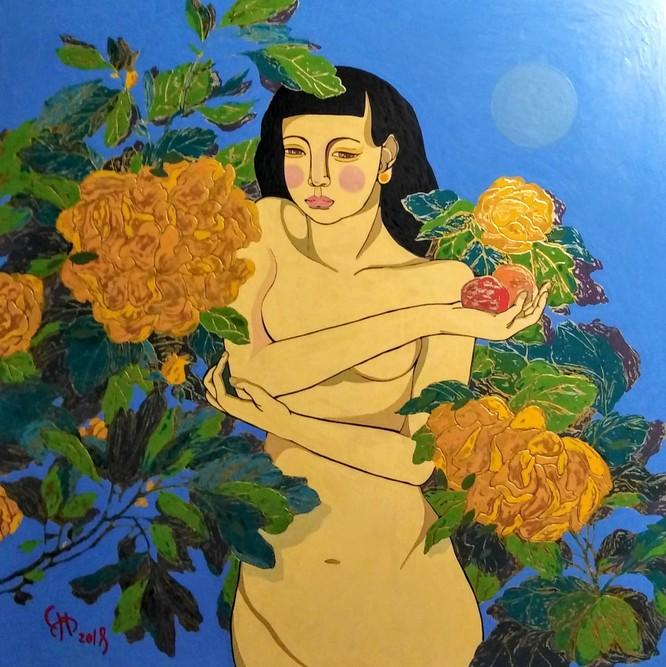 Thưởng thức vẻ đẹp nude và đấu giá online ảnh 3