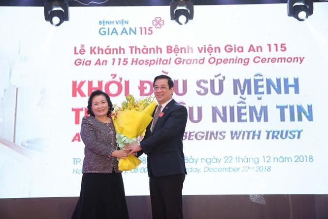 Khánh thành bệnh viện hợp tác công tư đầu tiên tại Tp.HCM ảnh 1