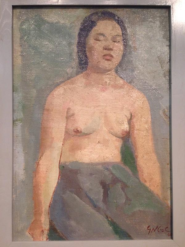"""Ngắm tranh nude của họa sỹ tiền bối ghi lại """"da thịt Việt"""" ảnh 2"""