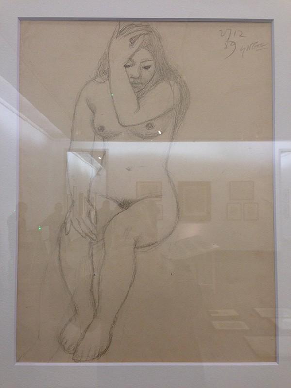 """Ngắm tranh nude của họa sỹ tiền bối ghi lại """"da thịt Việt"""" ảnh 3"""