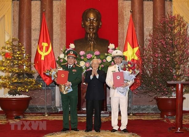 Việt Nam chính thức có thêm 2 Đại tướng: ông Tô Lâm và ông Lương Cường ảnh 1