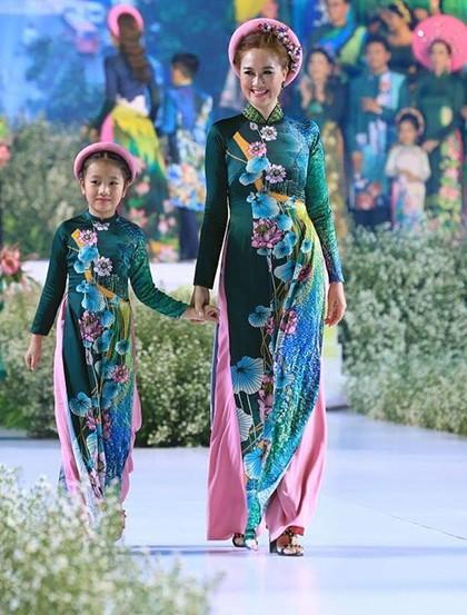 Hoa hậu áo dài Đàm Lưu Ly