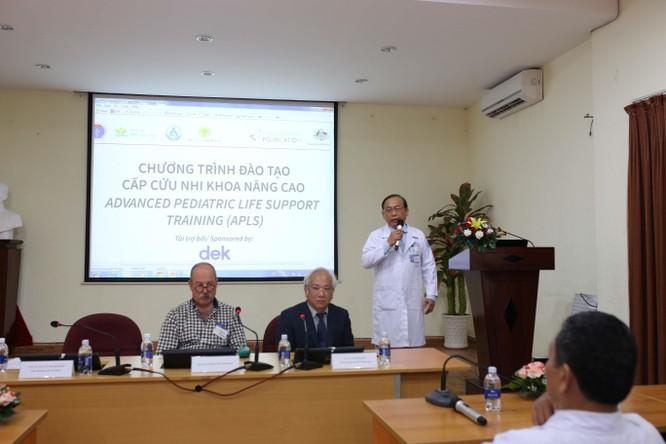 9 chuyên gia hàng đầu Úc hỗ trợ bác sĩ Nhi Đồng 1 nâng cao kỹ năng cấp cứu ảnh 3