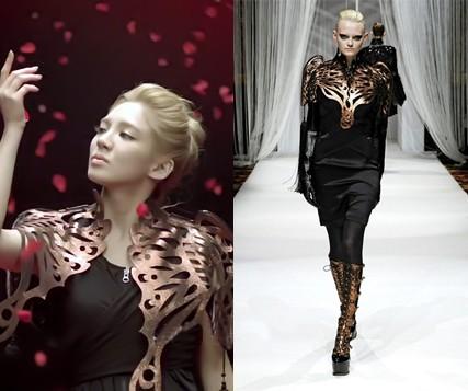 Hyoyeon (nhóm SNSD) mặc thiết kế của Lie Sang Bong