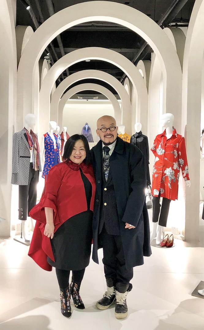 Bà Trang Lê và NTK Lie Sang Bong gặp gỡ thân tình tại Seoul Fashion Week