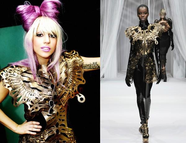 Lady Gaga mặc thiết kế của Lie Sang Bong