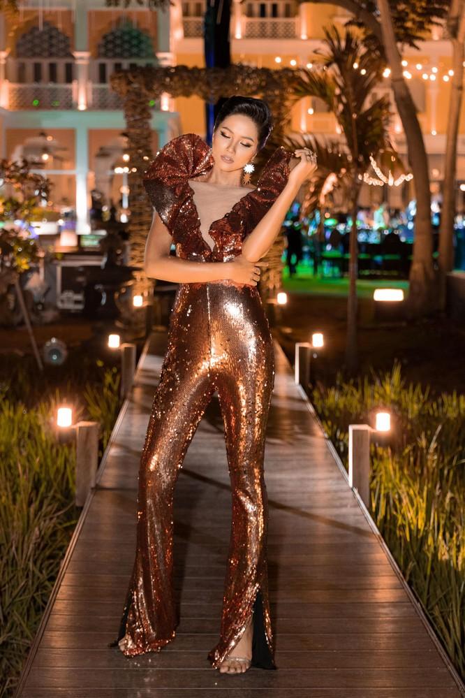 Hoa hậu H'Hen Niê bất ngờ diện chiếc váy từng gây tranh cãi tại Miss Universe ảnh 3