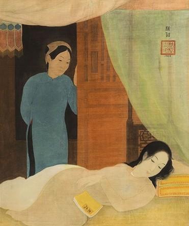 Hai tranh khỏa thân của Lê Phổ bán hơn 44 tỉ đồng ảnh 3