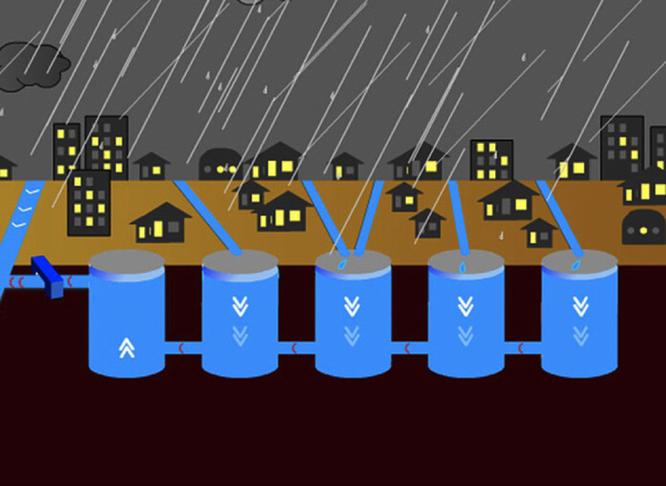 Công trình hệ thống cống thoát nước ngầm