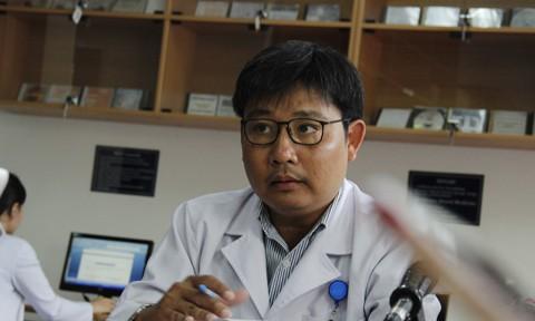 BS.Tiến sĩ Ngô Ngọc Quang Minh - Phó Giám đốc BV Nhi Đồng 1