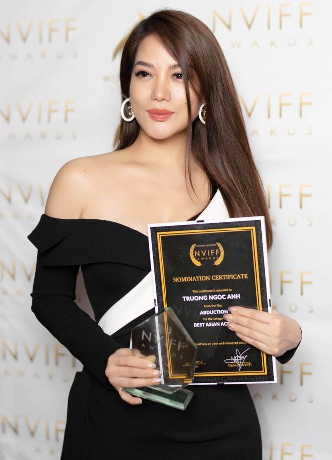 """Trương Ngọc Ánh được vinh danh """"Nữ diễn viên châu Á xuất sắc nhất"""" tại NVIFF 2019 ảnh 1"""