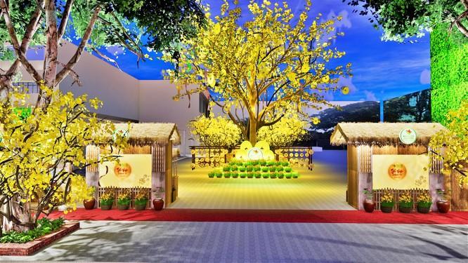 Tết Việt Canh Tý 2020 hấp dẫn với phố ông Đồ rực sắc mai vàng ảnh 1