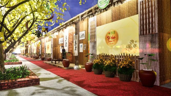 Tết Việt Canh Tý 2020 hấp dẫn với phố ông Đồ rực sắc mai vàng ảnh 2