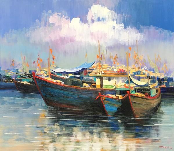 Tranh Nguyễn Nhật Dũng