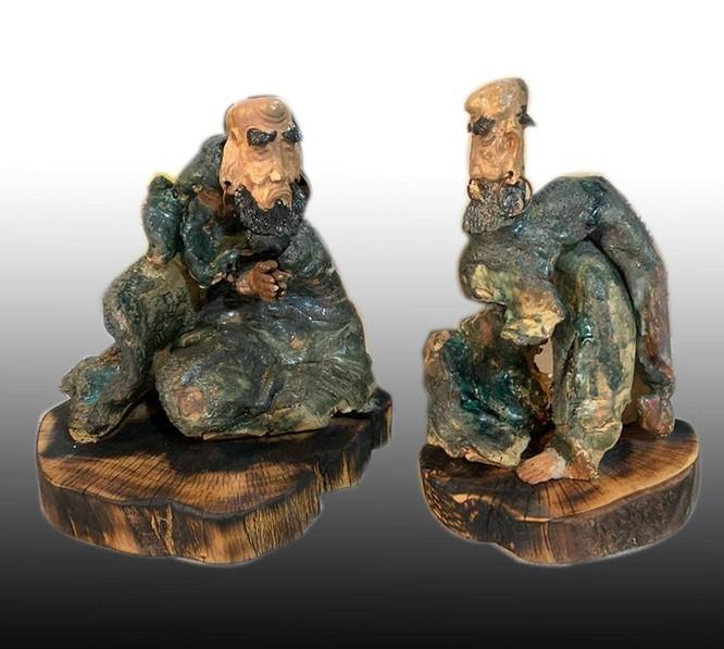 Tác phẩm Gốm của Hoàng Ngọc Hiến