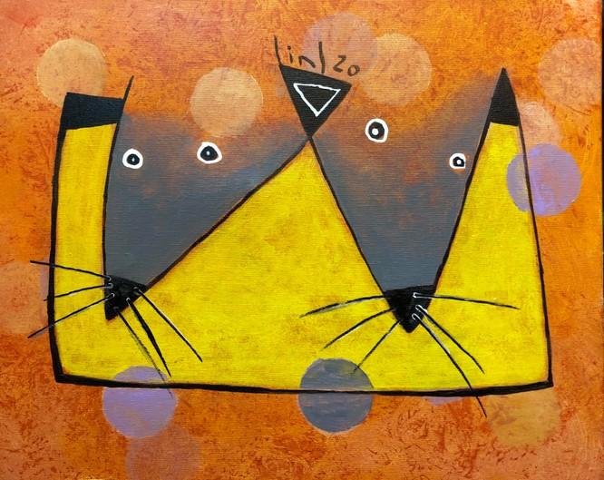 Tào Linh - họa sĩ tuổi Canh Tý kể chuyện vẽ tranh chuột ảnh 10