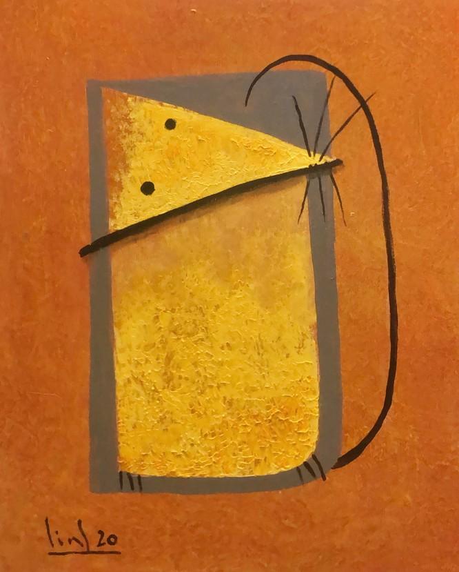 Tào Linh - họa sĩ tuổi Canh Tý kể chuyện vẽ tranh chuột ảnh 11