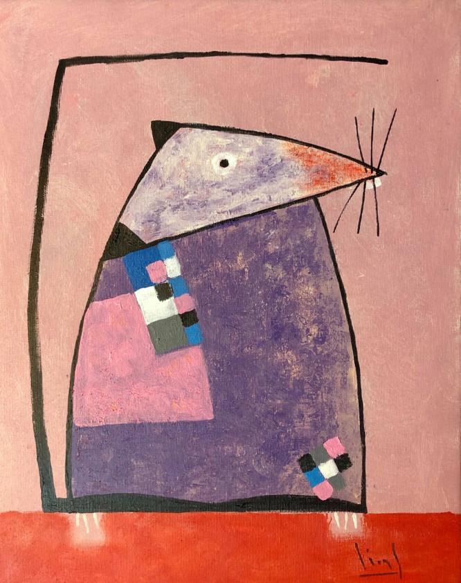 Tào Linh - họa sĩ tuổi Canh Tý kể chuyện vẽ tranh chuột ảnh 12