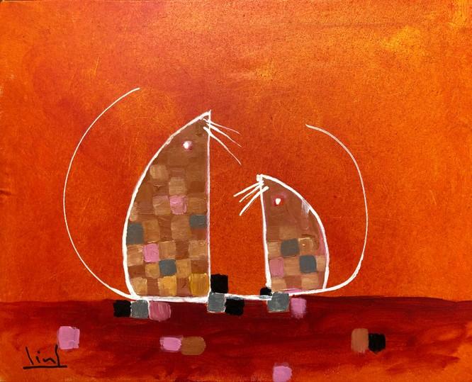 Tào Linh - họa sĩ tuổi Canh Tý kể chuyện vẽ tranh chuột ảnh 13