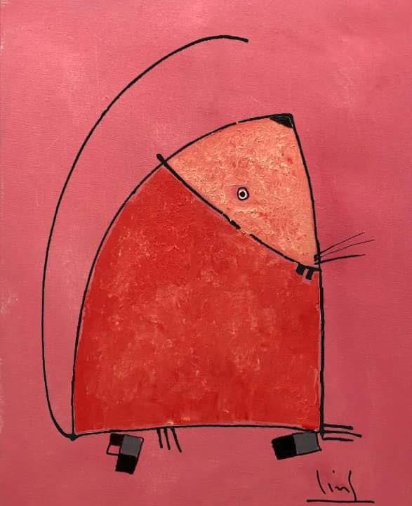 Tào Linh - họa sĩ tuổi Canh Tý kể chuyện vẽ tranh chuột ảnh 14