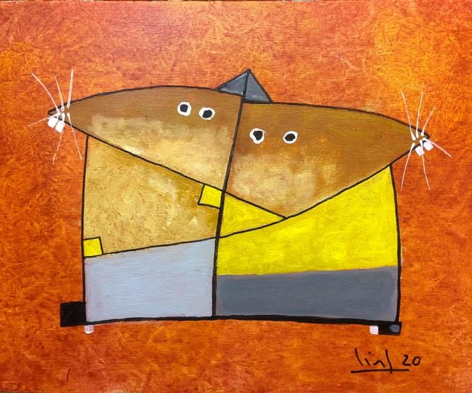 Tào Linh - họa sĩ tuổi Canh Tý kể chuyện vẽ tranh chuột ảnh 4