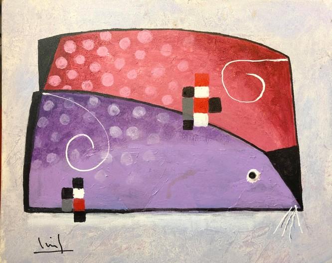Tào Linh - họa sĩ tuổi Canh Tý kể chuyện vẽ tranh chuột ảnh 5