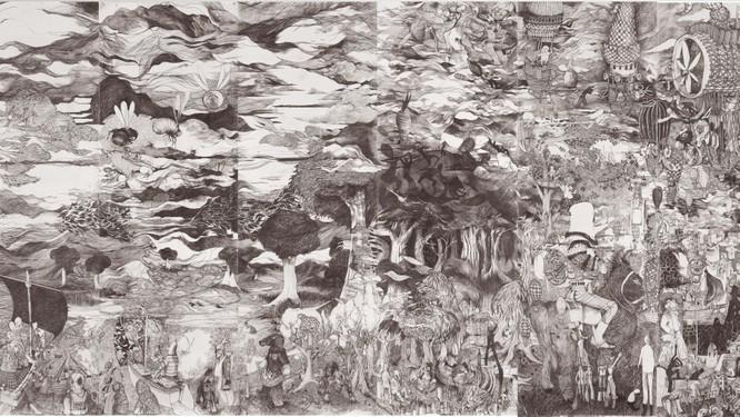 Triển lãm Giao điểm thảm họa của họa sĩ François Andes trong tuần cao điểm mùa dịch viêm phổi Vũ Hán do virus Corona