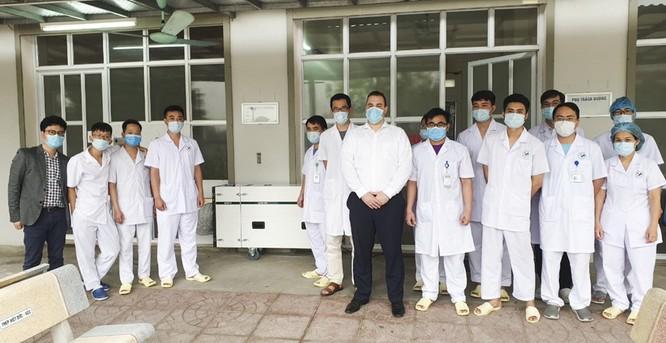 Ca sĩ Hà Anh Tuấn tặng 3 phòng cách ly áp lực âm điều trị COVID-19 ảnh 1