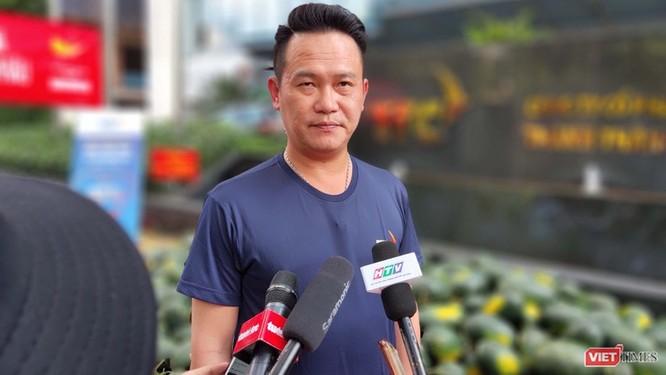 Ông Đặng Hồng Anh, Chủ tịch Hội Doanh nhân trẻ Việt Nam (Ảnh: Hòa Bình)