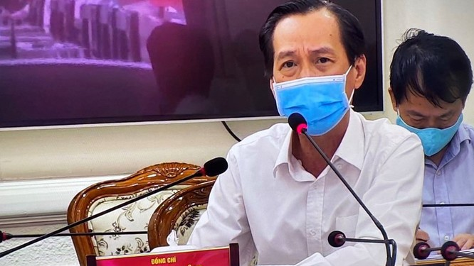 Phó Chủ tịch UBND TP.HCM ông Lê Thanh Liêm vừa gửi công văn khẩn yêu cầu thực hiện nghiêm giãn cách xã hội (Ảnh: TTBC)