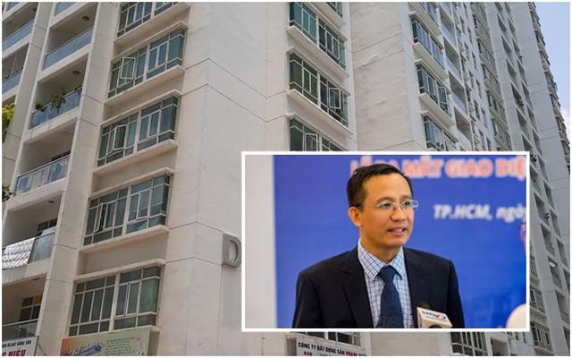 Khu D2 Chung cư New Sài Gòn, nơi TS Bùi Quang Tín tử vong (Ảnh: Tri thức trẻ)