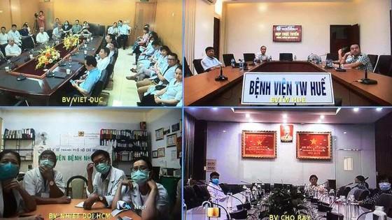 Hội chẩn 3 miền về điều trị bệnh nhân 91 được tổ chức ngày 10/5 (Ảnh: TTKT)
