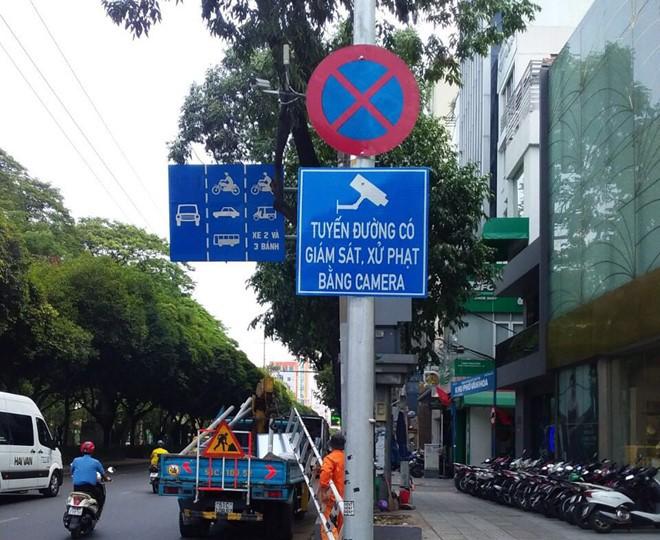 Tuyến đường có xử phạt vi phạm bằng camera (Ảnh; HĐ)