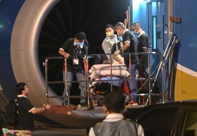 Chiếc máy bay chở bệnh nhân 91 hồi hương hiện đại như thế nào? ảnh 1