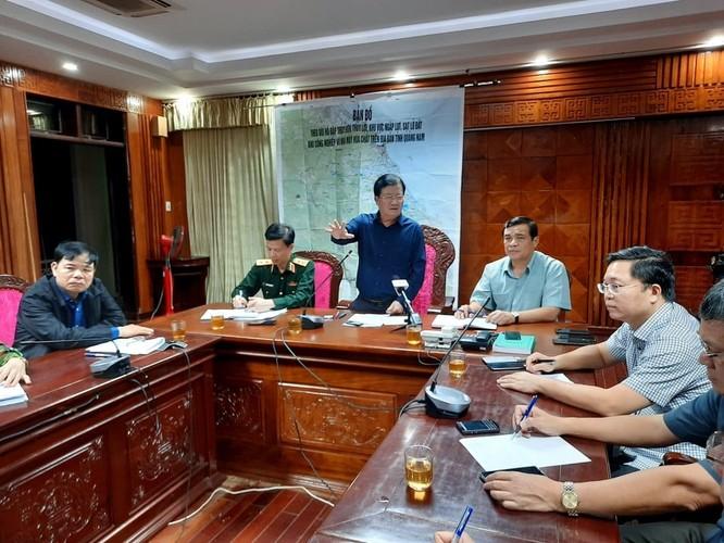 Khẩn cấp cứu hộ 53 người mất tích do sạt lở núi Trà Leng, Quảng Nam ảnh 1