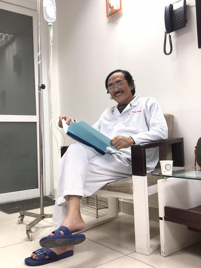 Nghệ sĩ Giang Còi đau đớn chống chọi bệnh ung thư vòm họng ảnh 1
