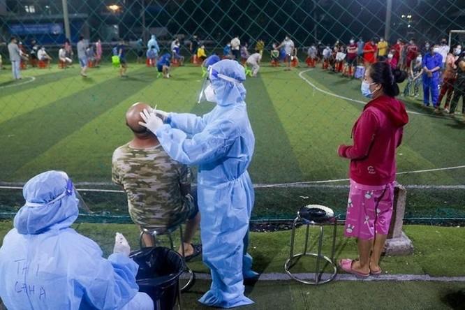 Khẩn cấp phong toả một khu vực quận Bình Tân từ 0 giờ đêm nay ảnh 1