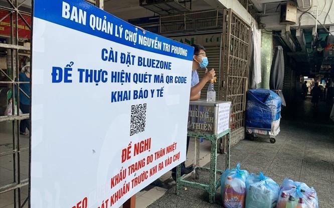 Người dân TP.HCM đi chợ, siêu thị khai báo y tế điện tử thế nào? ảnh 3