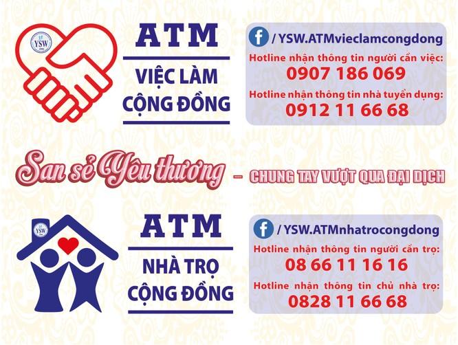 TP.HCM: ATM việc làm và ATM phòng trọ cộng đồng hỗ trợ người thất nghiệp ảnh 2