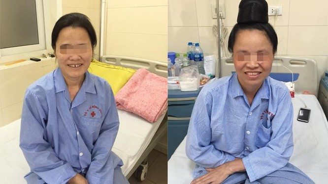 Hai bệnh nhân đã hồi phục sau ca mổ