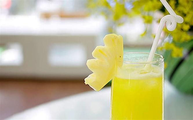 Vô vàn lợi ích cho cơ thể chỉ với một ly nước ép dứa ảnh 4