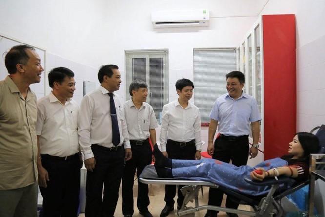 Hà Nội: Khai trương điểm hiến máu cố định đầu tiên ảnh 1