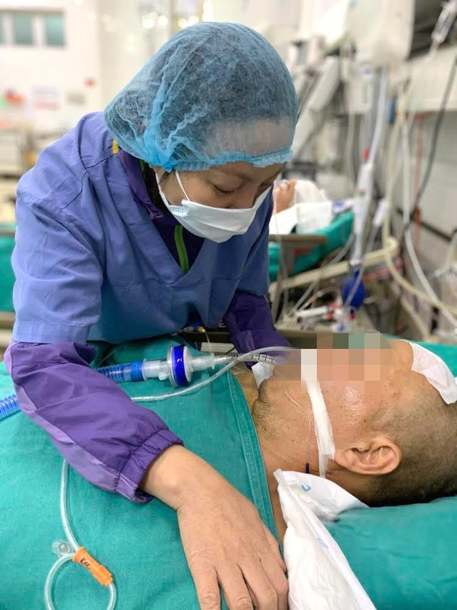 Nén đau thương hoàn thành tâm nguyện hiến tạng cho chồng ảnh 1