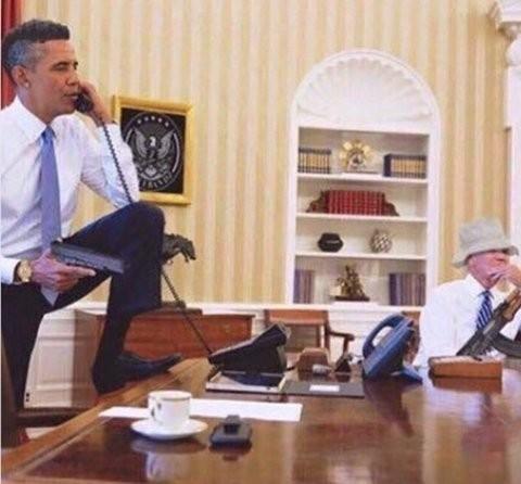 Dân mạng phát cuồng vì câu nói kháy bin Laden của Obama ảnh 8