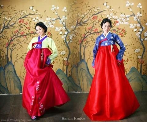 7 mẫu váy cưới độc đáo của các nước châu Á ảnh 1