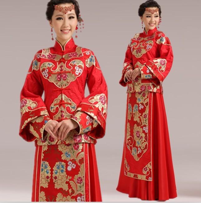 7 mẫu váy cưới độc đáo của các nước châu Á ảnh 6