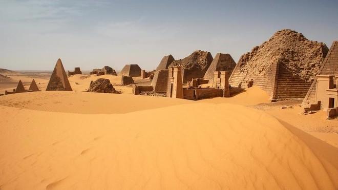 Kim tự tháp bị lãng quên ở Sudan ảnh 3