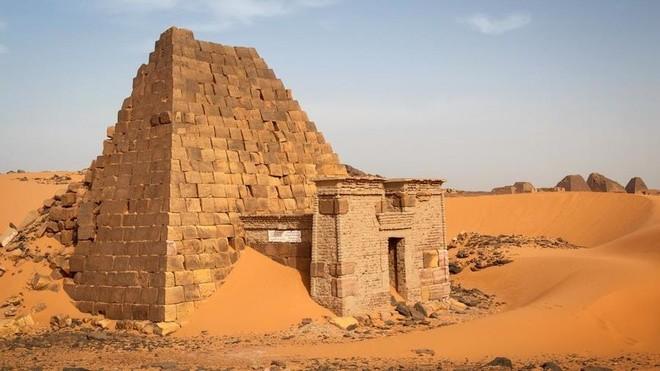 Kim tự tháp bị lãng quên ở Sudan ảnh 4